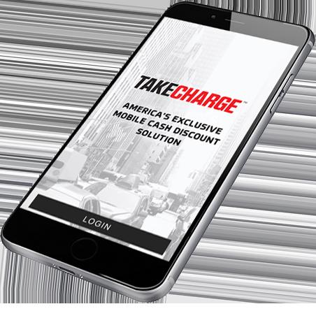 Take Charge Login Screen